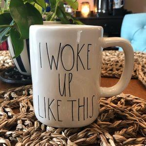 I Woke Up Like This Rae Dunn Mug
